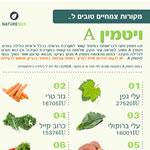 מקורות צמחיים לויטמין A