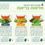 חליטות בריאות של צמחי מרפא