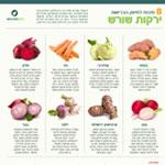 בריאות ירקות שורש