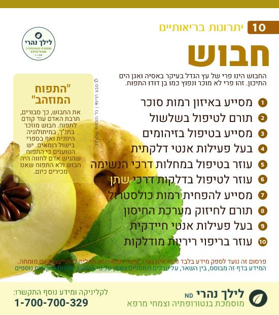 חבוש - 10 יתרונות בריאותיים